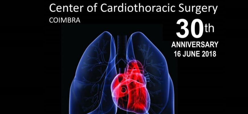 5th International Symposium Cardiothoracic Surgery: Past, Present and Future agendado para 16 de junho