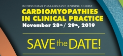"Abertas as inscrições para o curso ""Cardiomyopathies in Clinical Practice"""