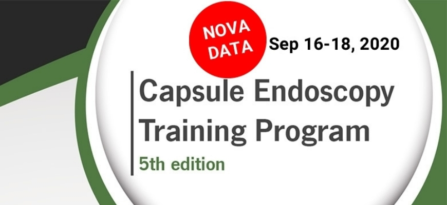 5th Capsule Endoscopy Training Program prestes a começar
